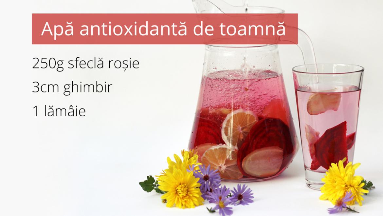 Suc de sfecla rosie cu ghimbir si lamaie
